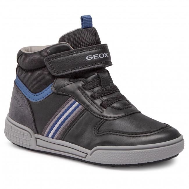 Boots GEOX - J Poseido B. B J04BCB 0CLBU C0052 S Black/Blue