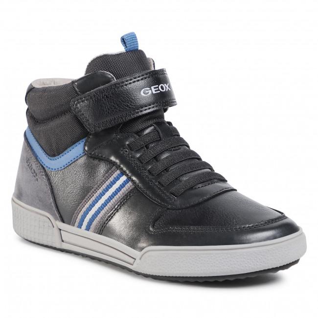 Boots GEOX - J Poseido B. B J04BCB 0CLBU C0052 D Black/Blue