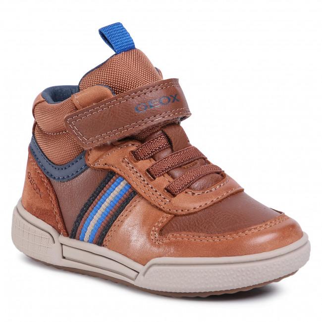 Boots GEOX - J Poseido B. B J04BCB 0CLBU C6176 M Cognac/Navy