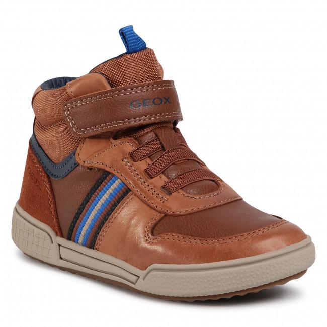 Boots GEOX - J Poseido B. B J04BCB 0CLBU C6176 S Cognac/Navy
