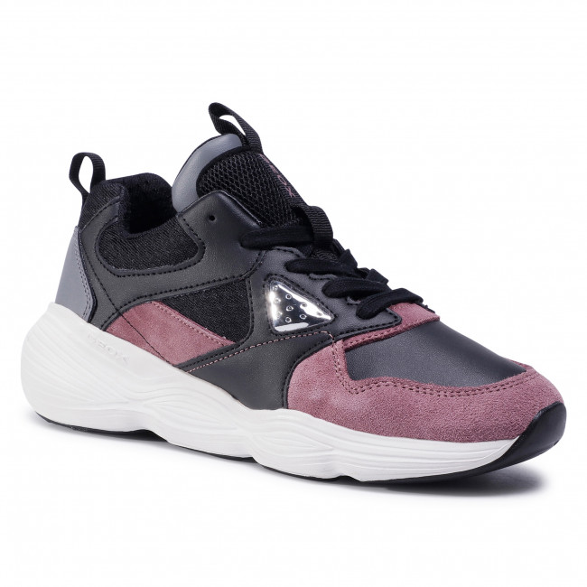 Trainers GEOX - J Bubblex G. B J04CNB 05422 C9388 D Black/Rose