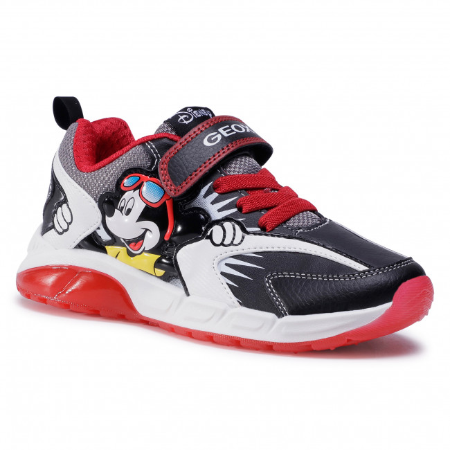Trainers GEOX - J Spaziale B. B J04CQB 054CE C0048 D Black/Red