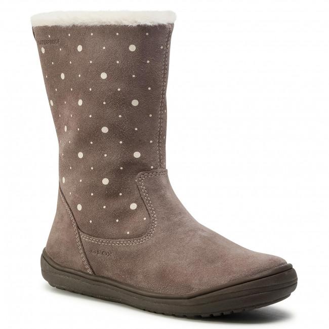 Knee High Boots GEOX - J Hadriel G. Wpf J04CUA 00022 C9006 D Smoke Grey
