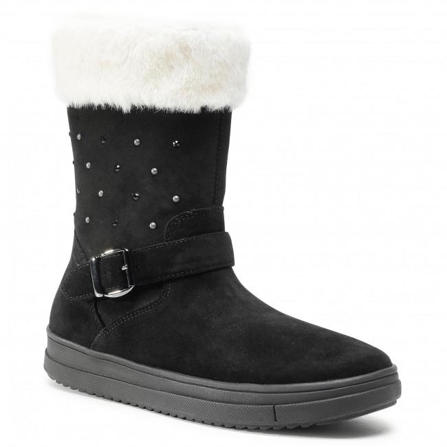 Knee High Boots GEOX - J Rebecca G.Wpf A J04CVA 00022 C9999 D Black