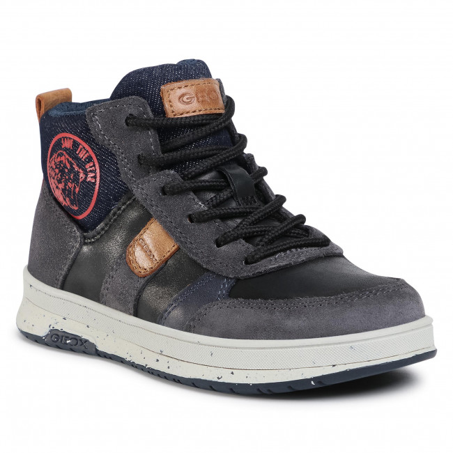 Boots GEOX - J Astuto B. D J04CXD 0CL22 C0048 S Black/Red