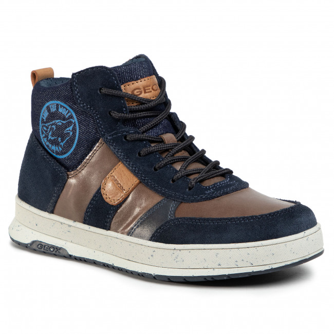 Boots GEOX - J Astuto B. D  J04CXD 0CL22 C6MF4 D Coffee/Navy