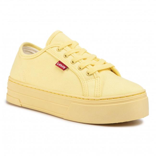 Plimsolls LEVI'S - Tijuana 230704-1733-70 Pastel Yellow
