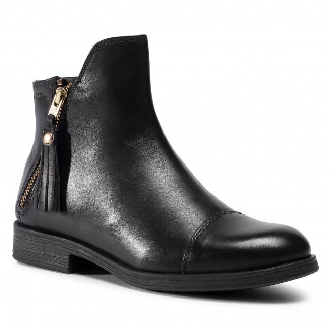 Knee High Boots GEOX -  J Agata C J5449C 00043 C9999 S Black