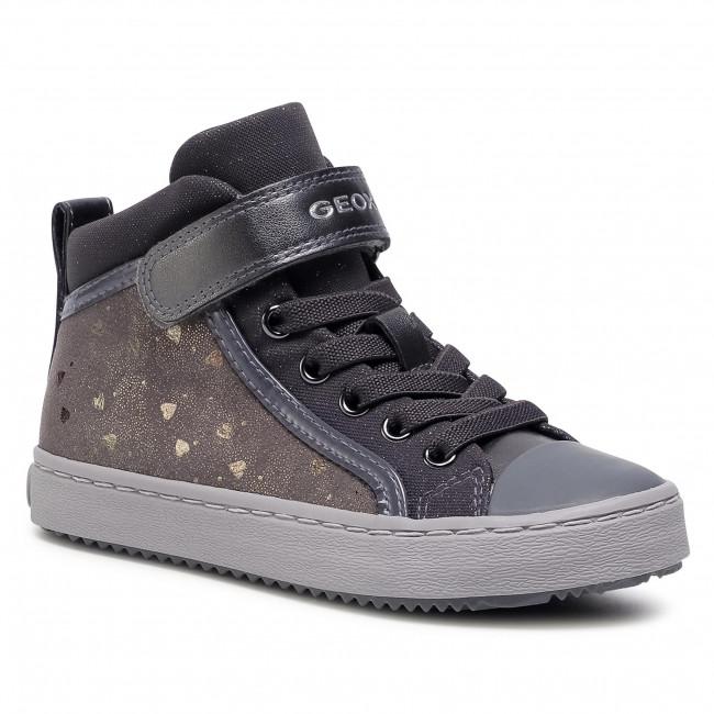 Boots GEOX - J Kalispera G.I J744GI 0DHAS C9017 S Dk Grey