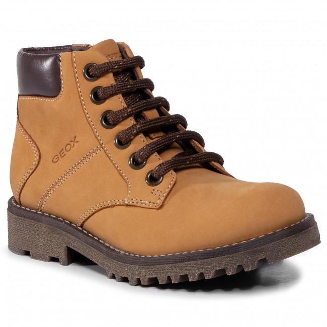 Hiking Boots GEOX - J Axel B. A J9486A 032BC C2006 S Dk Yellow