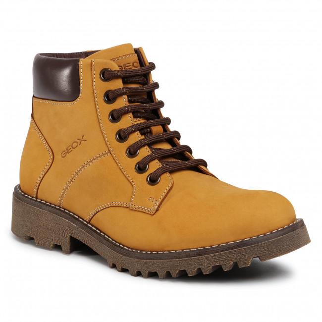 Hiking Boots GEOX - J Axel B. A J9486A 032BC C2006 D Dk Yellow