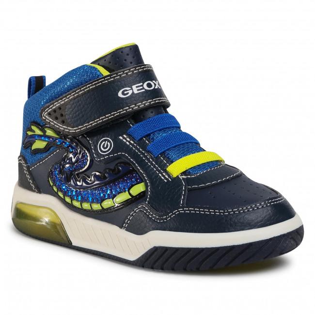 Boots GEOX - J Inek B. E J949CE 05411 C0749 S Navy/Lime