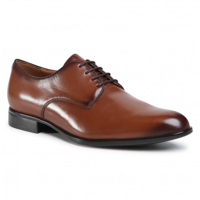 Shoes GEOX - U Iacopo C U029GC 00043 C6026 Dk Cognac