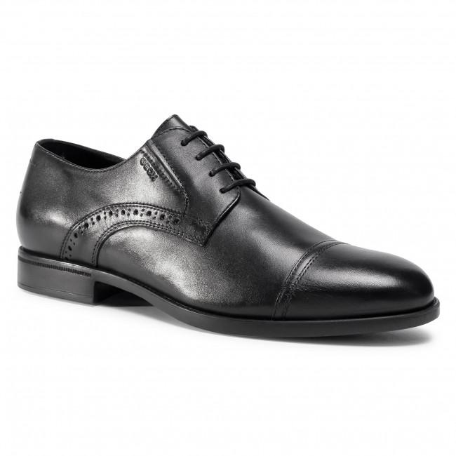 Shoes GEOX - U Domenico B U029LB 00043 C9999 Black