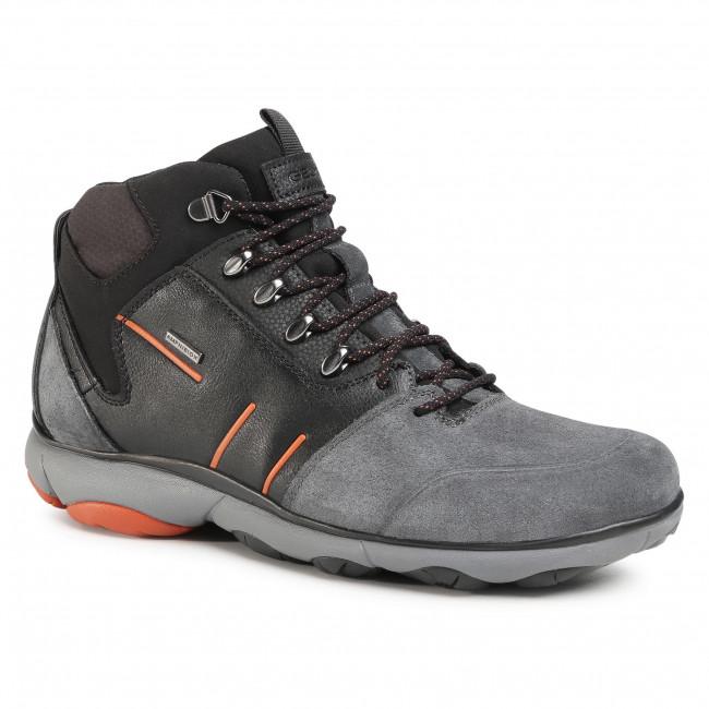 Boots GEOX - U Nebula 4X4ABX A U042VA 022ME C9211 Anthracite/Black