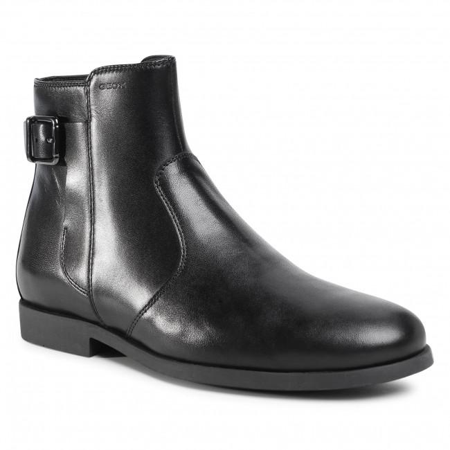 Knee High Boots GEOX - U Kaspar C U048HC 00043 C9999 Black
