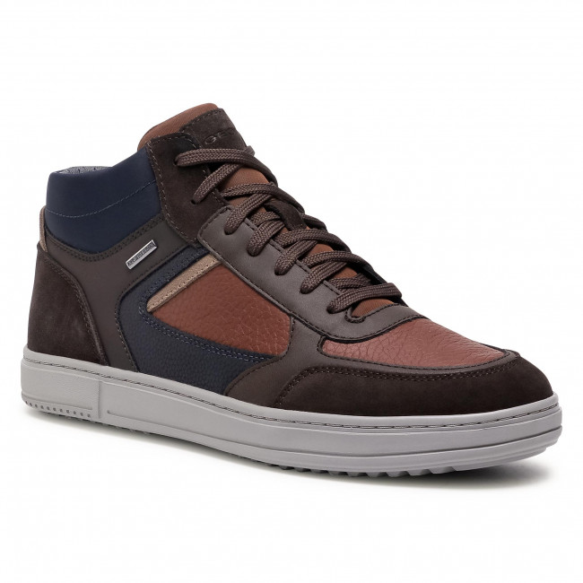Boots GEOX - U Levico B Abx C U04AHC 04622 C6G6T Browncotto/Dk Coffee