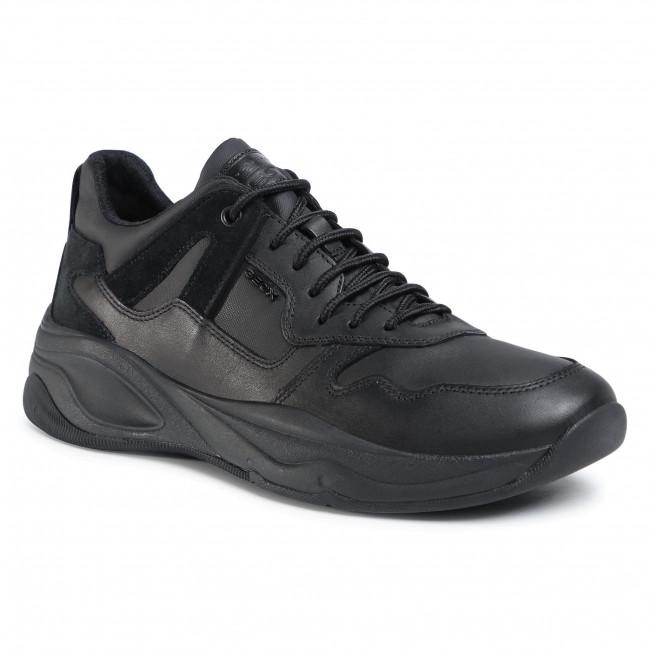 Trainers GEOX - U Tortona A U04ASA 043QG C9999 Black