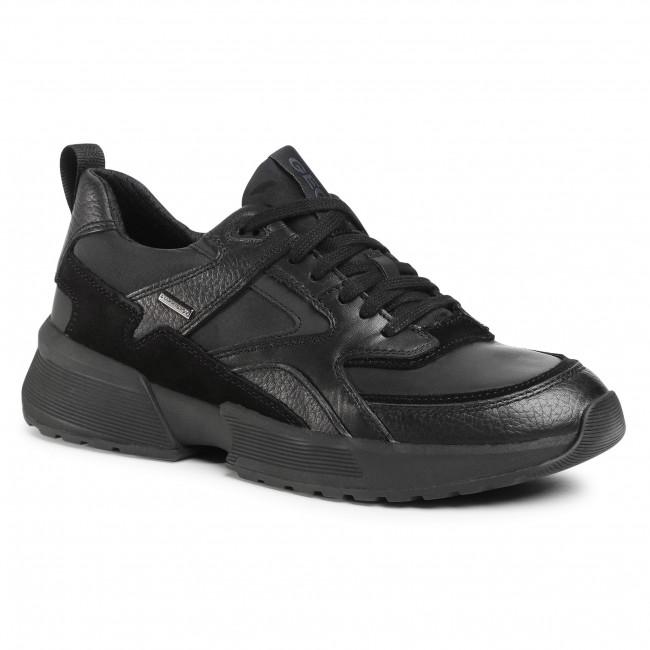 Trainers GEOX - U Naviglio B Abx A U04AUA 04311 C9999 Black