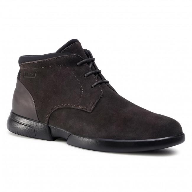 Boots GEOX - U Smoother F B U04AVB 00022 C6372  Mud