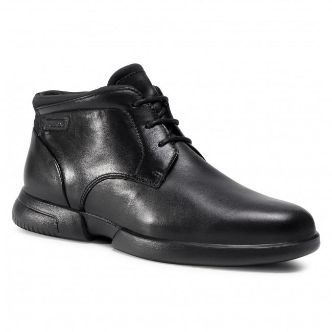 Boots GEOX - U Smoother F B U04AVB 00043 C9999 Black