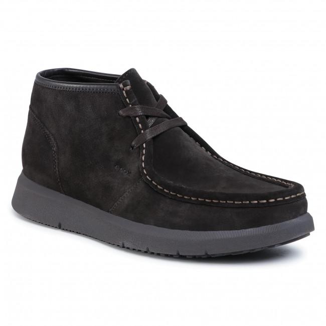 Boots GEOX - U Errico A U04AYA 00022 C6024 Dk Coffee