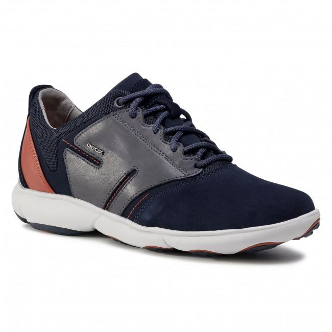 Shoes GEOX - U Nebula A U04D7A 02285 C4460 Navy/Octane
