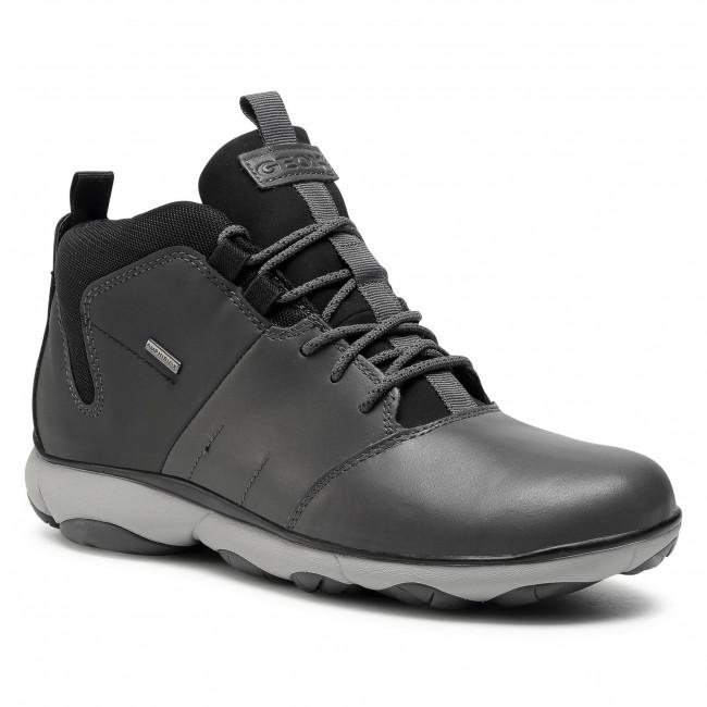 Shoes GEOX - U Nebula 4X4ABX A U742VA 043EK C9004 Anthracite