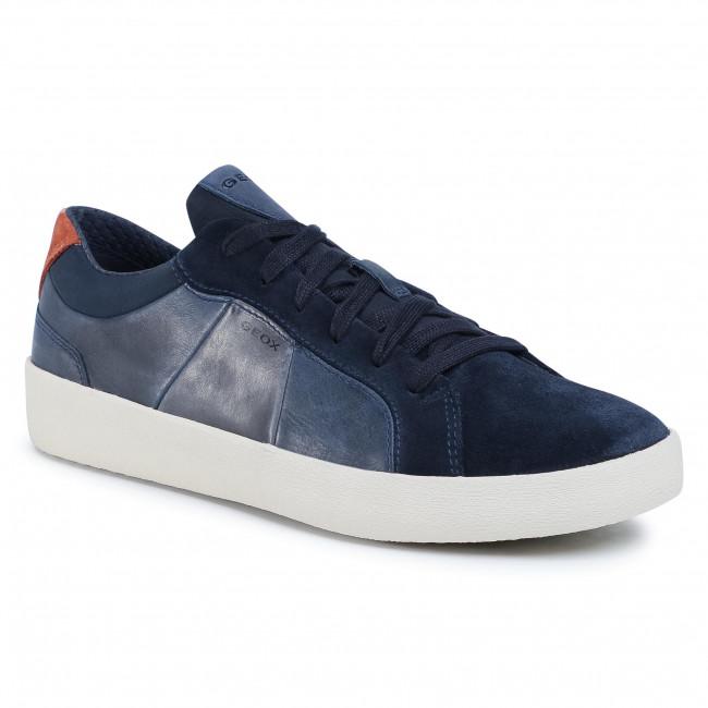 línea dirección acidez  Trainers GEOX - U Warley B U926HB 0CL22 C4002 Navy - Sneakers - Low shoes -  Men's shoes   efootwear.eu
