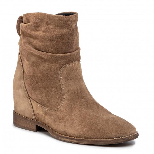 Boots NESSI - 19658  Beż W1