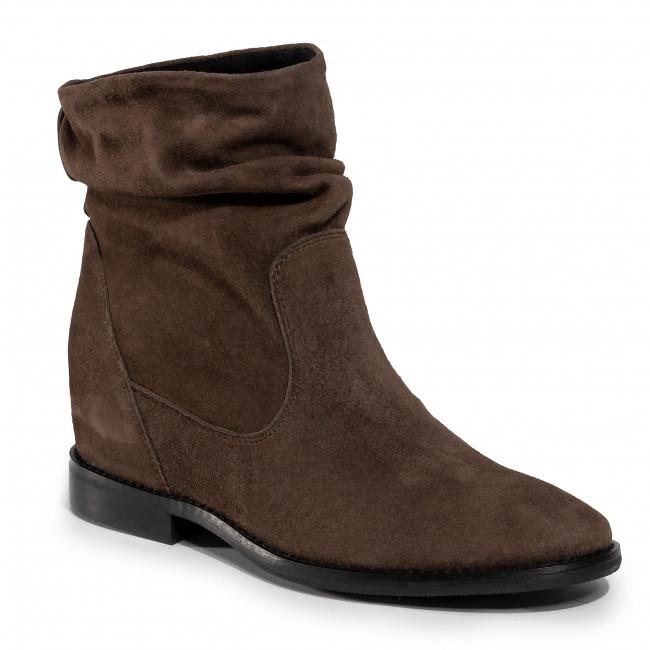 Boots NESSI - 19658  Brąz 191