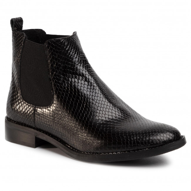 Ankle Boots NESSI - 71605 Czarny Gad