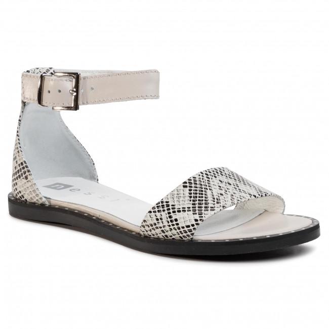 Sandals NESSI - 18372  Beż