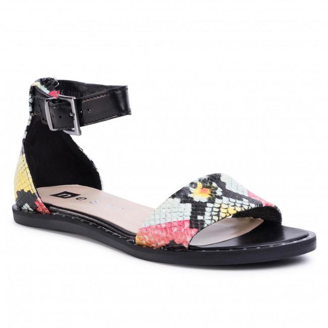 Sandals NESSI - 18372 Czarny