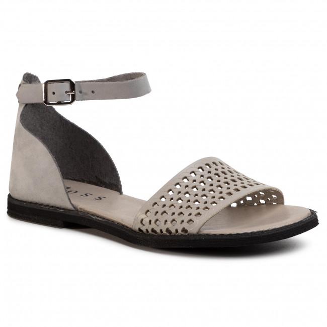 Sandals NESSI - 18381  Szary 11