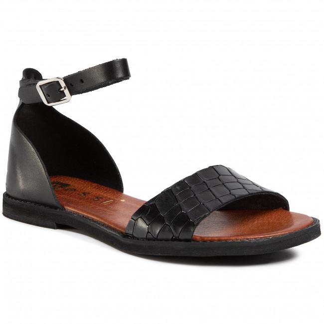 Sandals NESSI - 18382 Czarny/Czarny Coco