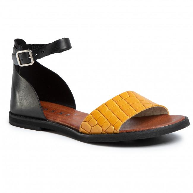 Sandals NESSI - 18382 Czarny/Zółty Coco