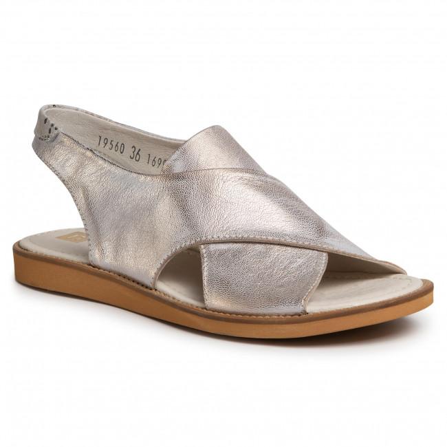 Sandals NESSI - 19560  Złoty 815