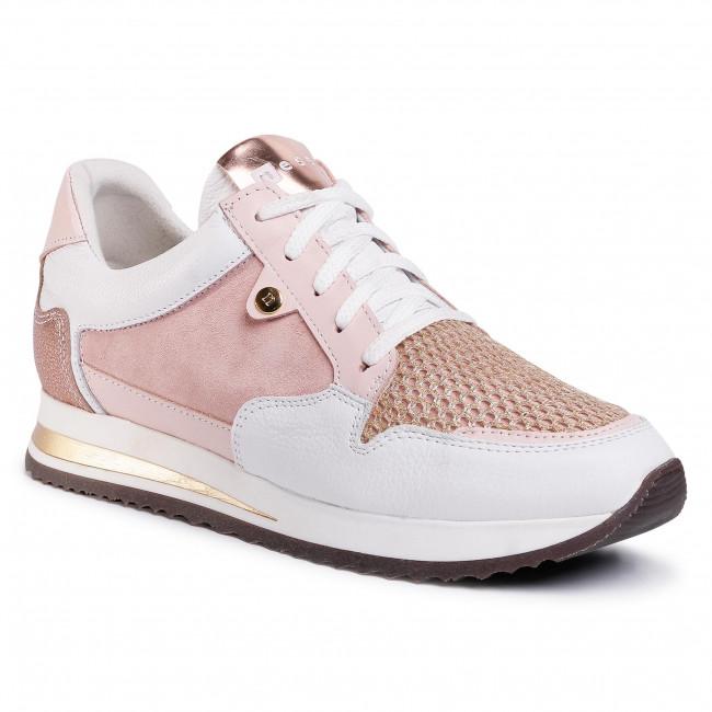 Sneakers NESSI - 20685 Biały/Midź
