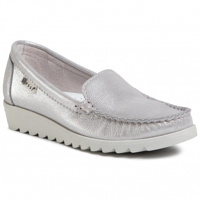Moccasins NESSI - 20688  Szary CT