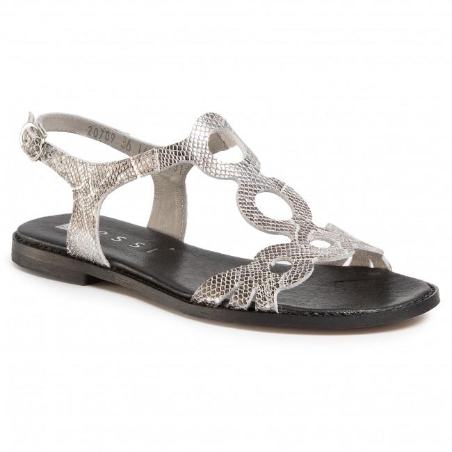 Sandals NESSI - 20709 Srebro