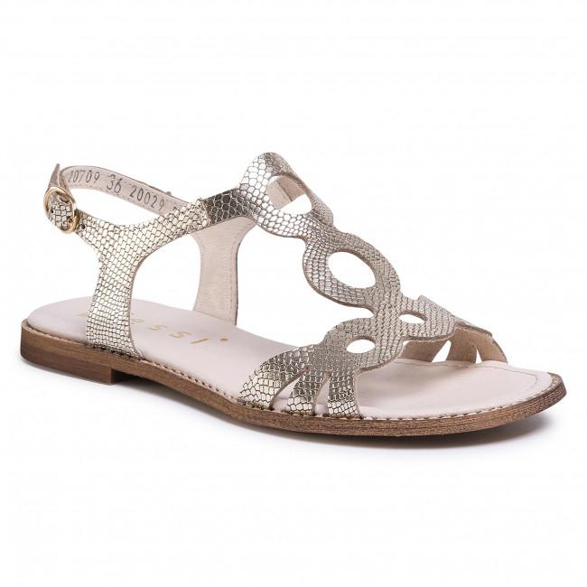 Sandals NESSI - 20709  Złoto