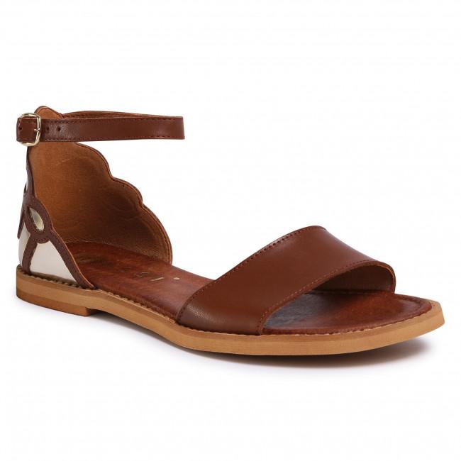 Sandals NESSI - 20712  Koniak