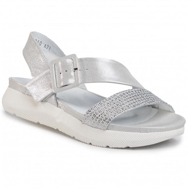 Sandals NESSI - 20723 Srebro