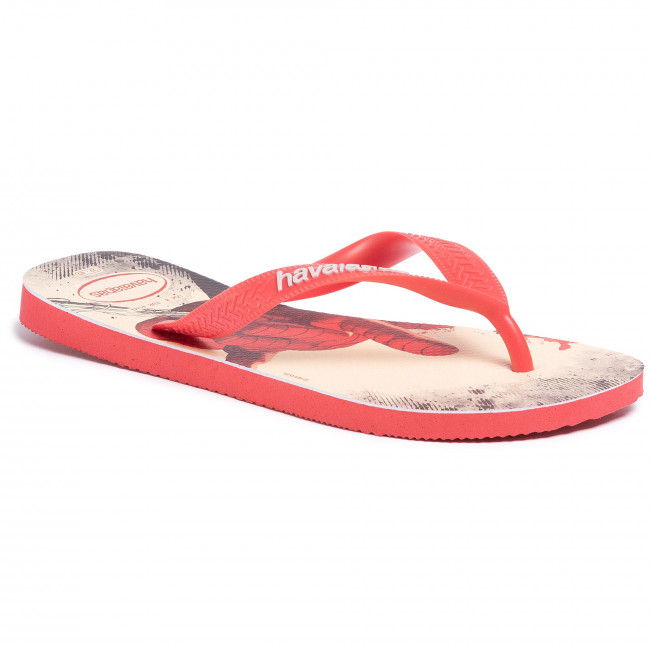 Slides HAVAIANAS - Top Marvel Fc 41395112090 Ruby Red