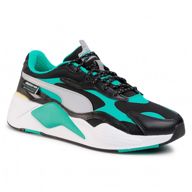 Sneakers PUMA - Mapm Rs-X³ 306499 02 Black/Spectra Green/White