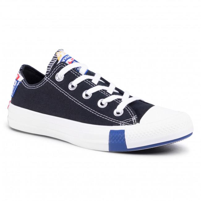 Sneakers CONVERSE - Ctas Ox Black/Rush Blue/Un