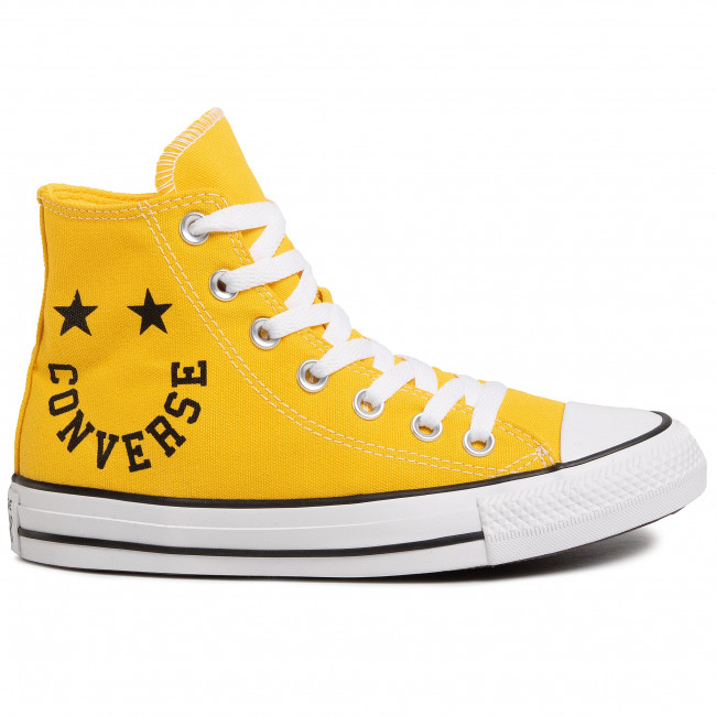 Sneakers CONVERSE Ctas Hi 167070C AmarilloBlackWhi