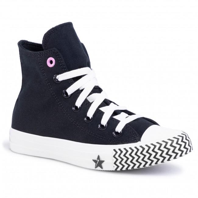 Sneakers CONVERSE Ctas Hi 566731C BlackUniversity RedWhite