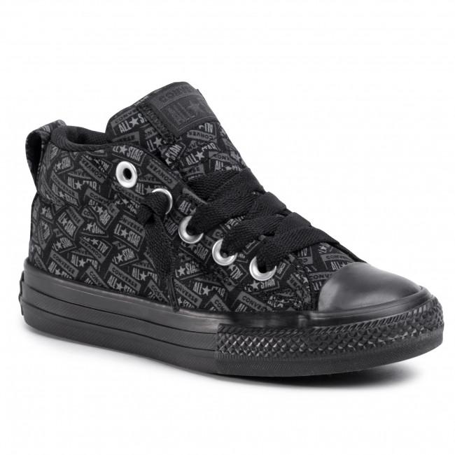 Sneakers CONVERSE Ctas Street Mid 666904C BlackMasonThunder Grey